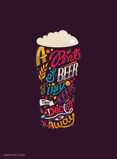 28 Creative Typography designs and illustrations for your