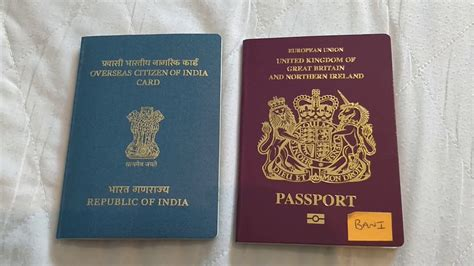 Process of Indian OCI Card booklet - YouTube