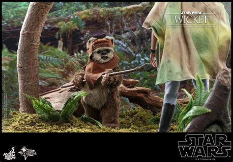 Ewok Wicket One Sixth Scale Figure by Hot Toys