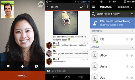 Imo adds video call over WiFi and cellular to Android and