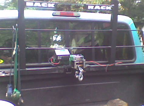 Bed mounted winch - Ford Truck Enthusiasts Forums