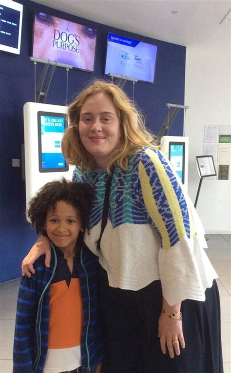 Adele Hosts Movie Screening for Children Impacted by