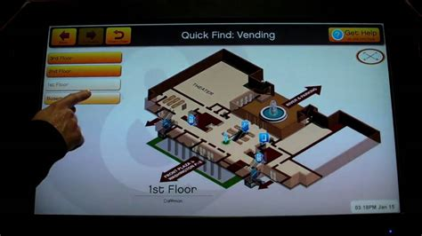 Touch Screen Building Directory - YouTube