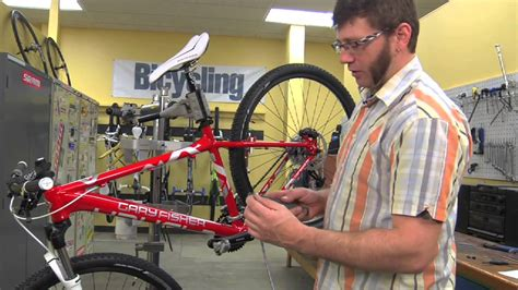 How to Replace Brake Cables - Bicycling Magazine - YouTube