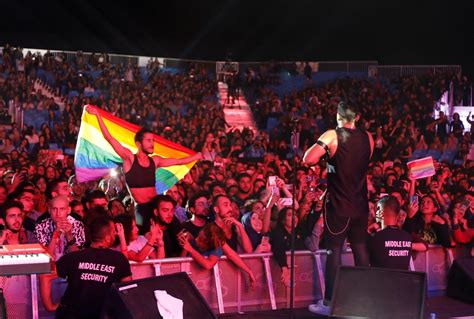 Indie fans arrested for 'raising the flag of homosexuals