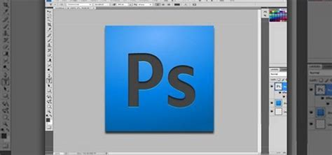 How to Make your own Adobe CS4 logo in Photoshop