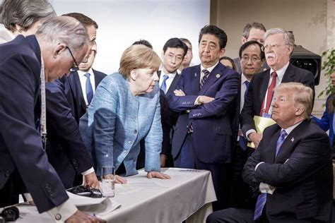 Trump insulted Justin Trudeau after leaving the G7 summit
