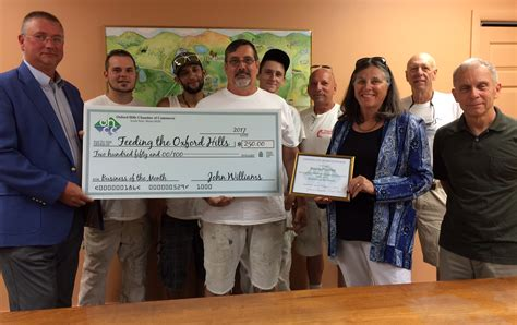 Oxford Hills chamber gives back - Lewiston Sun Journal