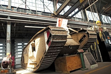 Armor and Cavalry Restoration Facility | Article | The