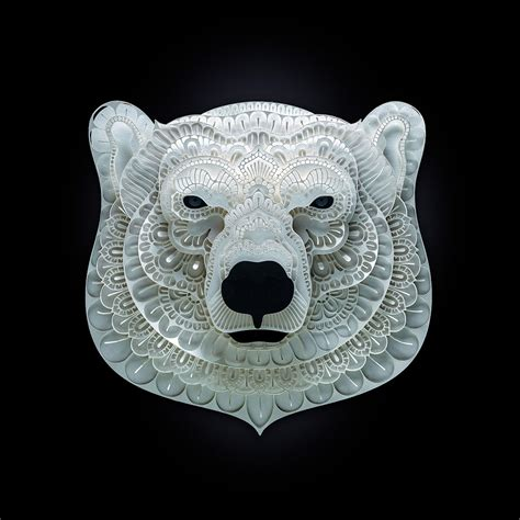 Endangered Species Cut from Paper by Patrick Cabral | Colossal