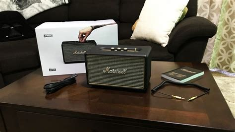 Marshall Acton Bluetooth Speaker REVIEW | Mac Sources