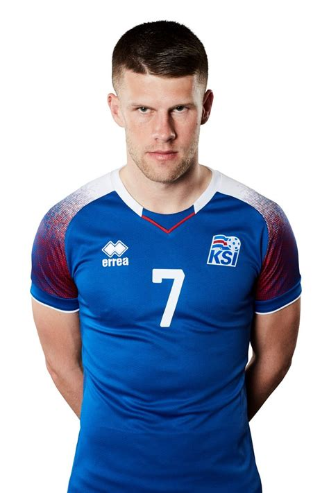 Meet the players of the Iceland men's national football