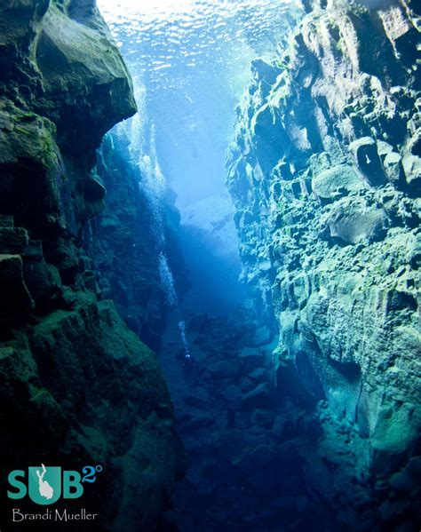 Dry Suit Diving in The Silfra Crack, Iceland