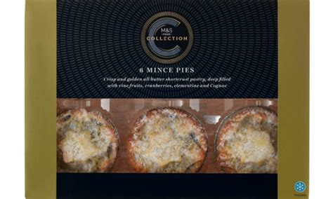 Marks and Spencer has the best mince pies for Christmas