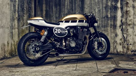Yamaha XJR 1300 Cafe Racer 4K Wallpapers   HD Wallpapers