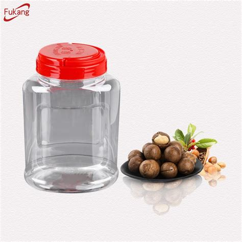 1300ml Plast Candy Storage Containers With Handle Caps