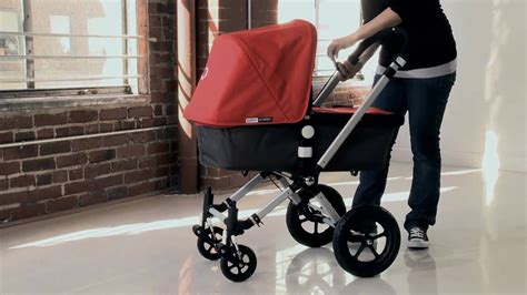bugaboo cameleon demo - using the carrycot - YouTube