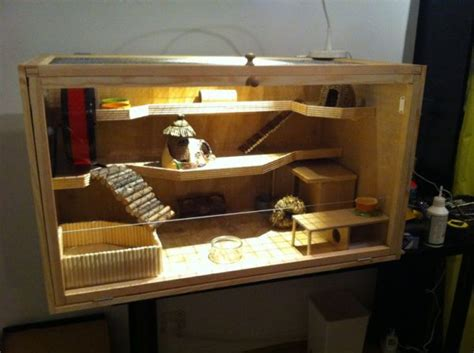 Build your own hamster cage – photo guide | Hamster cage