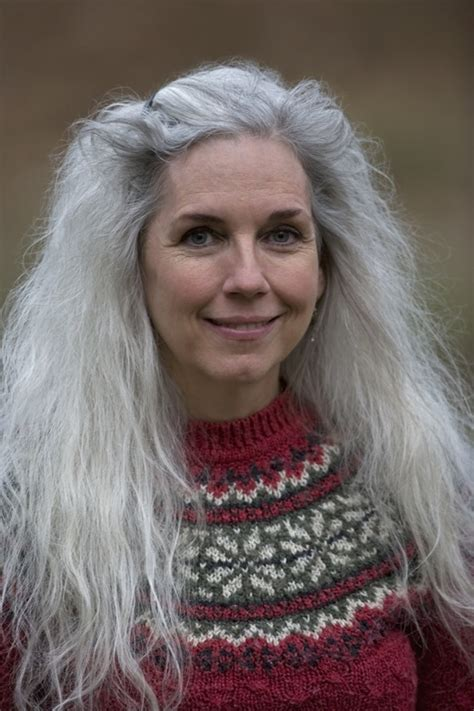 """One hair stylist refers to long gray hair as """"Witchy-poo"""