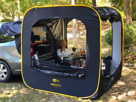 CARSULE Pop-Up Cabin for Your Car | The Awesomer Shop