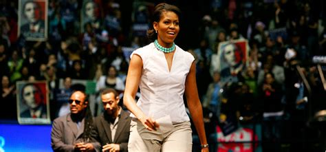 Michelle Obama Thrives in Campaign Trenches - The New York