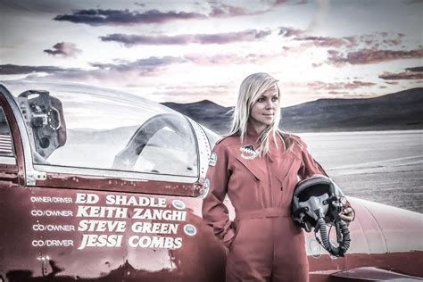 Jessi Combs, the 'fastest woman on four wheels,' dies at