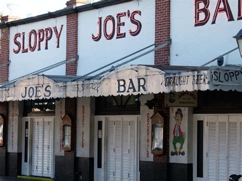 Key West vacation and visit guide: Sloppy Joe's Bar Key West