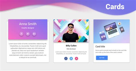 Bootstrap Cards - examples & tutorial