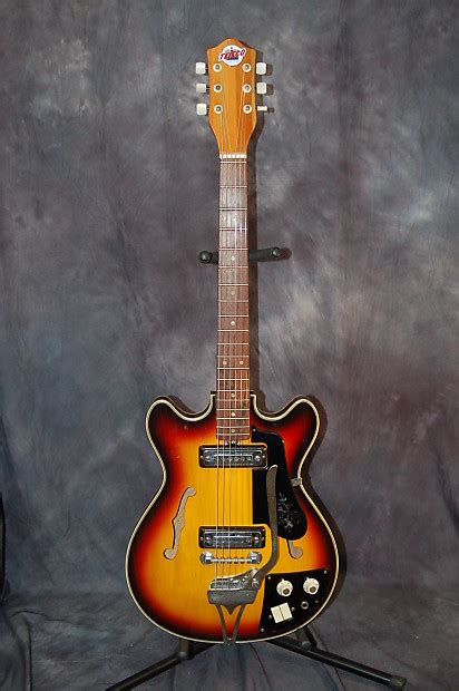 Teisco Del Rey Model EP-8T Slimline Dual Ry Cooder Style