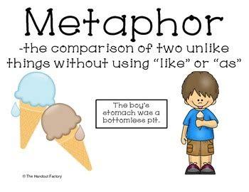 Metaphor Poster and Interactive Booklet by The Handout