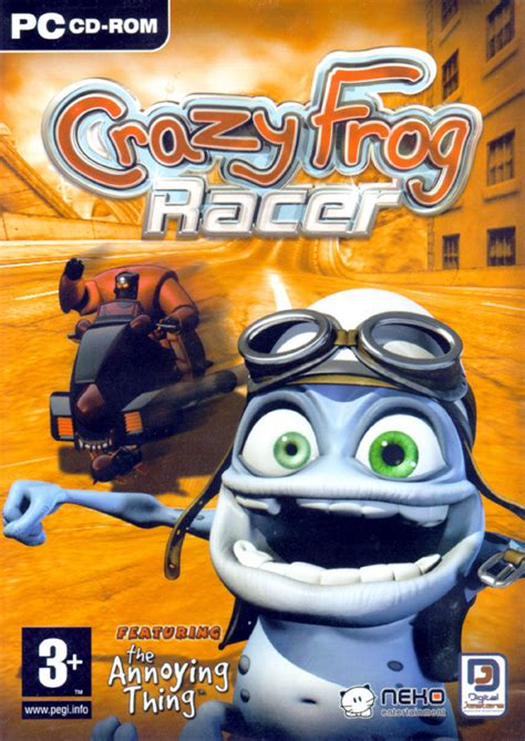 Crazy Frog Racer for PlayStation 2 (2005) Ad Blurbs
