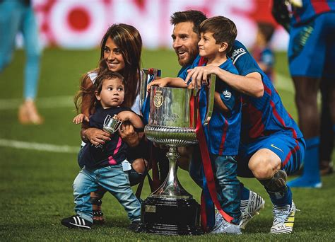 Thiago And Mateo Messi Love Their Dad, Lionel Messi