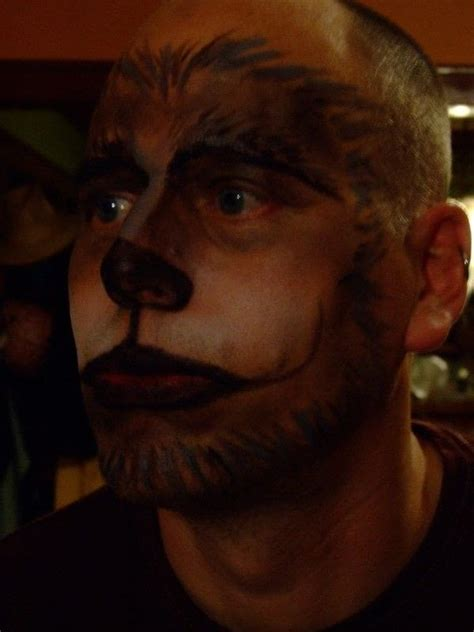 Big Bad Wolf Make Up · How To Create A Face Painting