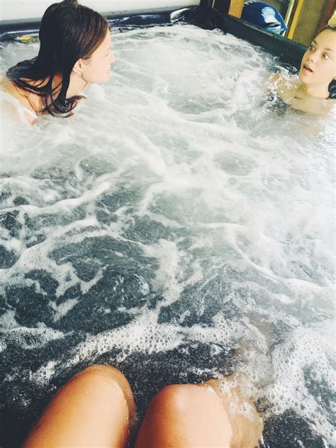 Besties ️ in 2020   Hot tub, Outdoor decor, My house