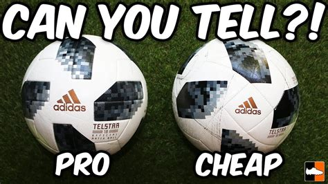 Spot The Difference?! 2018 World Cup Balls Tested - YouTube