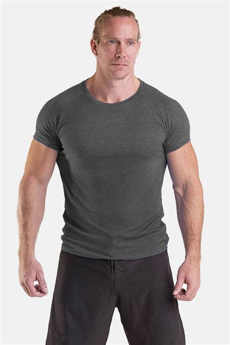 Mens Functional Tee Antracite – Blanc Label