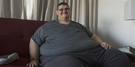 World's former heaviest man shows off his 551-pound weight