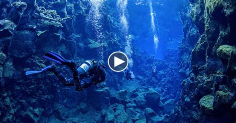 In Iceland, You Can Go Diving Between Two Continental