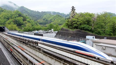 Japanese maglev train breaks world speed record for second