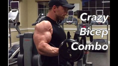Insane Bicep Combo For A Crazy Pump! - YouTube