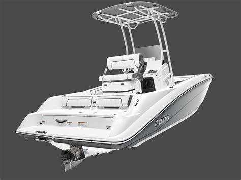 Yamaha Unveils First Jet-Powered Center Console Boat
