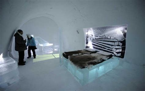 The ice hotel that needs a fire alarm - Telegraph