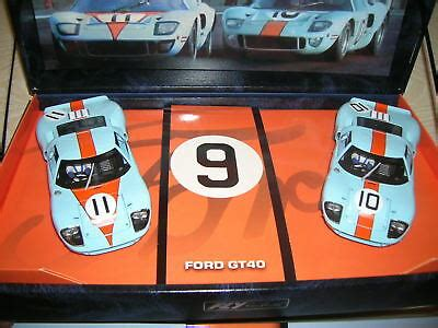 FLY Slot Car in 1:32 132 - 96016 Team Gulf Ford GT40 LE