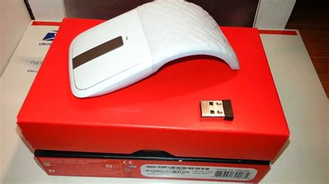 FOR SALE : Microsoft Arc Touch Mouse white - YouTube