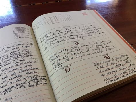 Mom's handwritten journals are relics of personal history