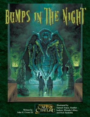 Tabletop Review; Bumps in the Night (Call of Cthulhu