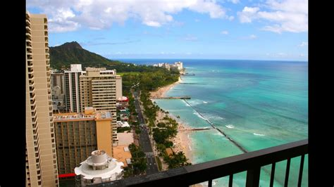 A First Impression of Hawaii From High Atop the Hyatt