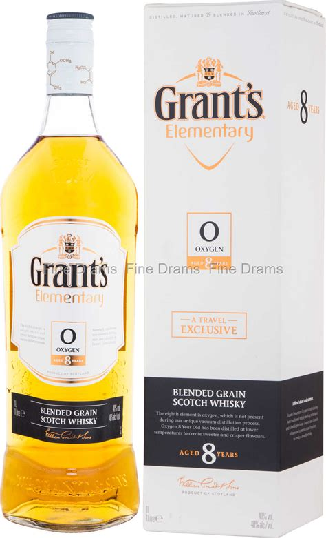 Grant's Elementary 8 Year Old Oxygen Whisky (1 Liter)
