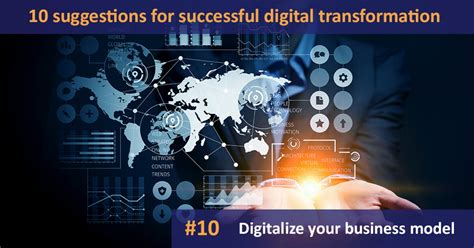10 suggestions for successful digital transformation: #10